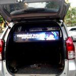 VIDEOTRON LED TV DALAM MOBIL
